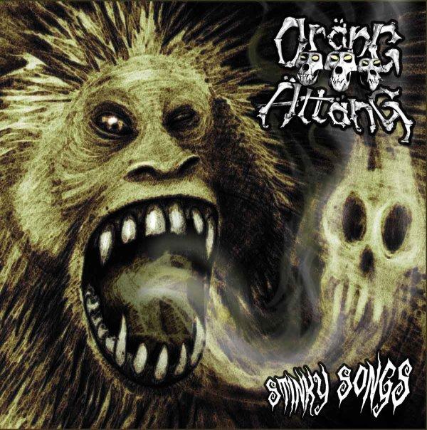 ORÄNG ÄTTANG - Stinky Songs LP